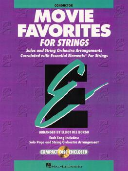 Essential Elements Movie Favorites for Strings (Conductor) (HL-00868019)