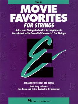 Essential Elements Movie Favorites for Strings: Violin Book Parts 1/2 (HL-00868020)