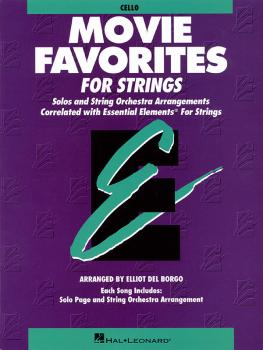 Essential Elements Movie Favorites for Strings (Cello) (HL-00868022)