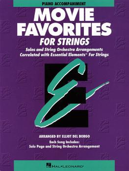 Essential Elements Movie Favorites for Strings (Piano Accompaniment) (HL-00868024)
