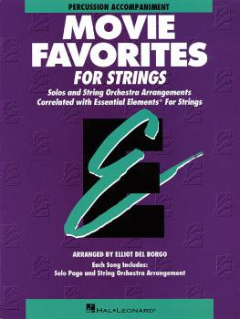 Essential Elements Movie Favorites for Strings (Percussion) (HL-00868031)