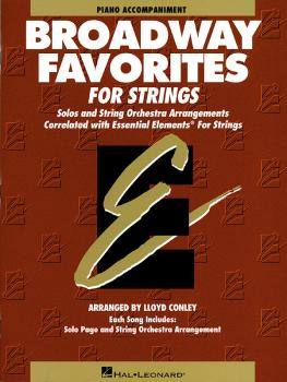 Essential Elements Broadway Favorites for Strings - Piano Accompanimen (HL-00868044)