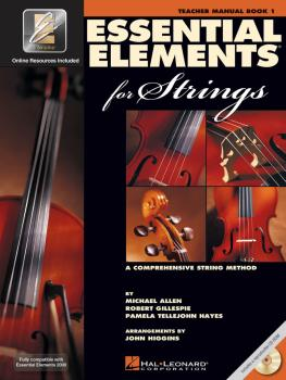 Essential Elements for Strings - Book 1 with EEi (Teacher Manual) (HL-00868048)