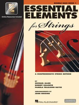 Essential Elements for Strings - Book 1 with EEi (Double Bass) (HL-00868052)