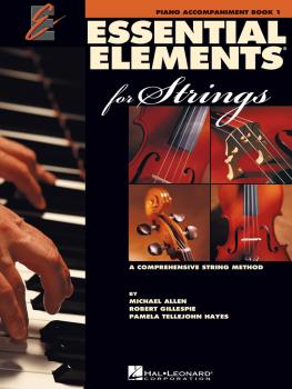 Essential Elements 2000 for Strings - Book 1 (Piano Accompaniment) (HL-00868053)