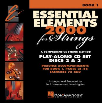 Essential Elements 2000 for Strings - Book 1 Play-Along CD Set: Discs  (HL-00868054)
