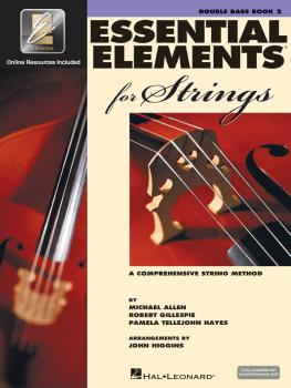 Essential Elements for Strings - Book 2 with EEi (Double Bass) (HL-00868060)