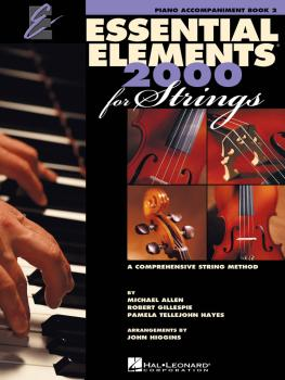 Essential Elements 2000 for Strings - Book 2 (Piano Accompaniment) (HL-00868061)