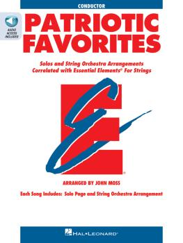 Patriotic Favorites for Strings (Conductor) (HL-00868063)