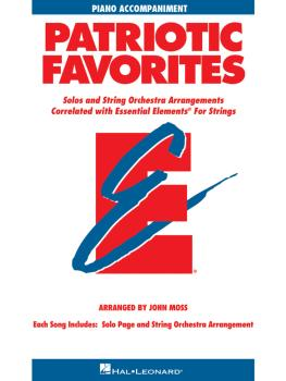 Patriotic Favorites for Strings (Piano Accompaniment) (HL-00868068)