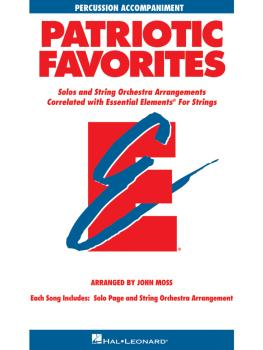 Patriotic Favorites for Strings: Percussion Accompaniment (HL-00868069)