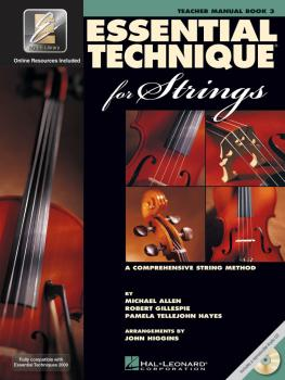 Essential Technique for Strings (Essential Elements Book 3) (Teacher M (HL-00868073)
