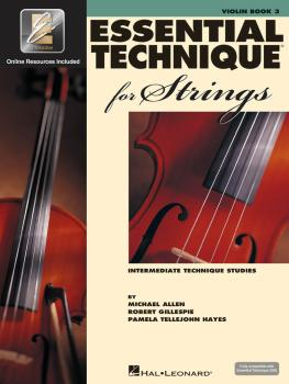Essential Technique for Strings with EEi (Violin) (HL-00868074)