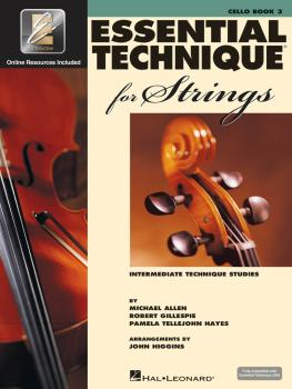 Essential Technique for Strings (Essential Elements Book 3) (Cello) (HL-00868076)