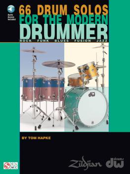 66 Drum Solos for the Modern Drummer: Rock · Funk · Blues · Fusion · J (HL-02500319)