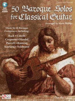 50 Baroque Solos for Classical Guitar (HL-02500713)