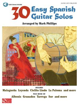 30 Easy Spanish Guitar Solos (HL-02501147)