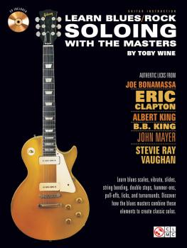 Learn Blues/Rock Soloing with the Masters (HL-02501553)