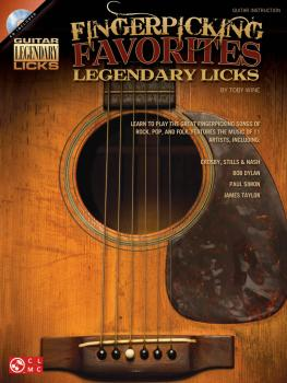 Fingerpicking Favorites Legendary Licks: An Inside Look at the Great F (HL-02501707)