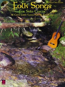 Folk Songs for Solo Guitar: 36 Celtic Fiddle Tunes, Airs & Folk Songs (HL-02502168)
