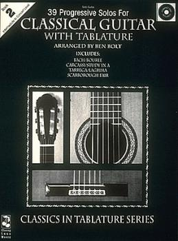 39 Progressive Solos for Classical Guitar (Book 2) (HL-02506916)
