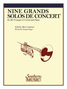 Nine Grand Solos De Concert (Trumpet) (HL-03770195)