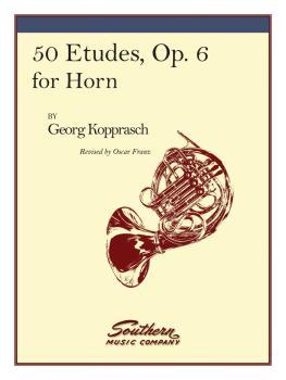 50 Etudes, Op. 6 (Horn) (HL-03770210)