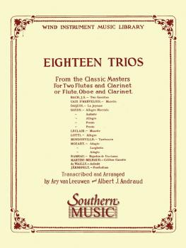 18 Trios (Complete) from Classic Master (Woodwind Trio) (HL-03770265)
