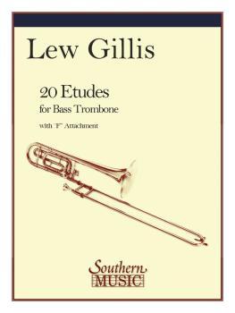 20 Etudes for Bass Trombone (Bass Trombone) (HL-03770297)