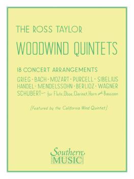 Ross Taylor Woodwind Quintets (Woodwind Quintet) (HL-03770335)