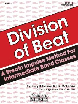 Division of Beat (D.O.B.), Book 1B (Flute) (HL-03770569)