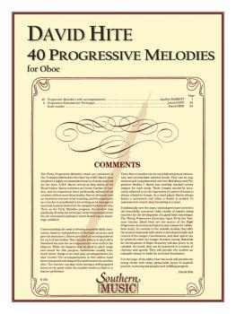 40 Progressive Melodies (Oboe) (HL-03770582)