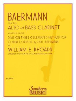 Baermann for Alto and Bass Clarinet: Alto or Bass Clarinet (HL-03770617)
