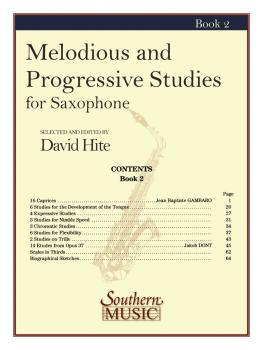 Melodious and Progressive Studies, Book 2 (Saxophone) (HL-03770715)