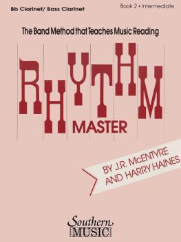 Rhythm Master - Book 2 (Intermediate): Clarinet/Bass Clarinet (HL-03770832)
