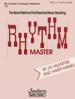 Rhythm Master - Book 2 (Intermediate) (Cornet/Trumpet) (HL-03770833)