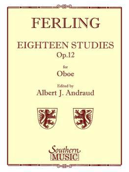 18 Studies, Op. 12 (Unaccompanied Oboe) (HL-03770916)