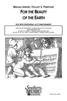 For the Beauty of the Earth: Choral Music/Octavo Secular Ssa (HL-03773374)