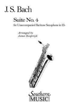 Suite No. 4 (Baritone Sax) (HL-03774587)