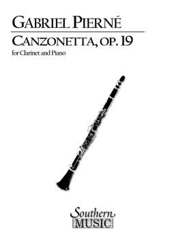Canzonetta, Op. 19 (Clarinet) (HL-03774605)