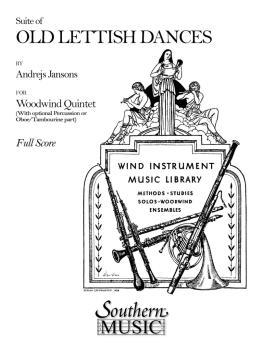 Suite of Old Lettish Dances (Woodwind Quintet) (HL-03774750)