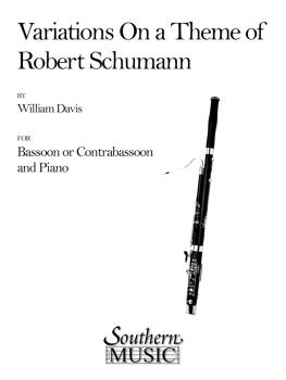 Variations on a Theme of Robert Schumann (Bassoon) (HL-03775027)