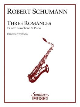 Three Romances (Alto Sax) (HL-03775044)