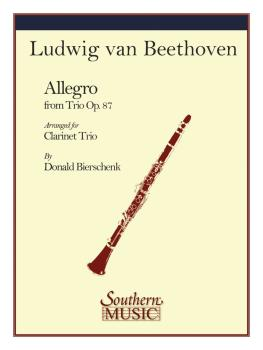 Allegro (from Trio Op. 87) (Clarinet Trio) (HL-03775281)