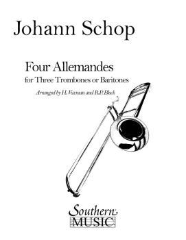 Four Allemandes (Trombone Trio) (HL-03775341)