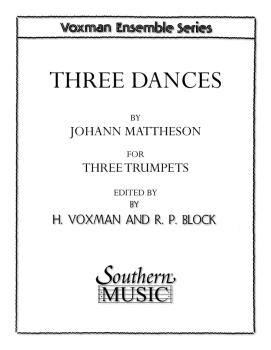 Three Dances (Trumpet Trio) (HL-03775401)