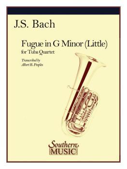 Fugue in G Minor (Little) (2 Euphoniums/2 Tubas) (HL-03775712)