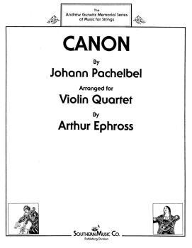 Canon (Violin Quartet) (HL-03775905)