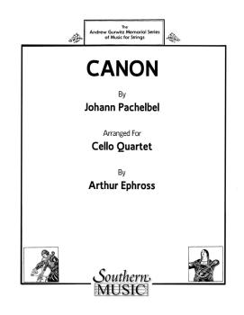 Canon (Cello Quartet) (HL-03776497)