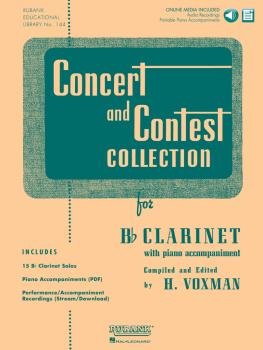 Concert and Contest Collection for Bb Clarinet (Solo Part w/CD) (HL-04002511)